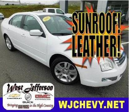 2007 Ford Fusion for sale in West Jefferson, NC