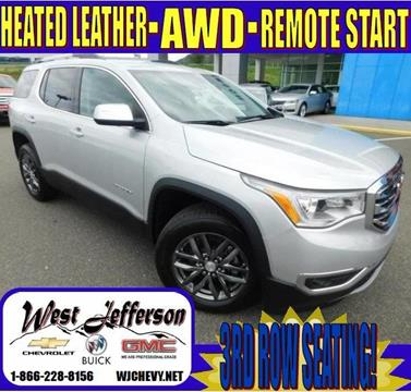 2018 GMC Acadia for sale in West Jefferson, NC