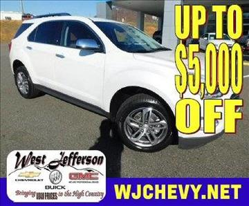 2017 Chevrolet Equinox for sale in West Jefferson, NC