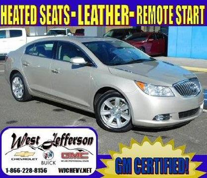 2013 buick lacrosse for sale in north carolina. Black Bedroom Furniture Sets. Home Design Ideas