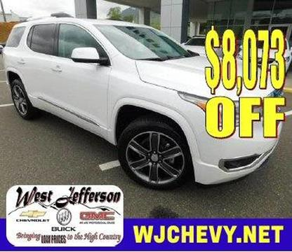 2017 GMC Acadia for sale in West Jefferson, NC