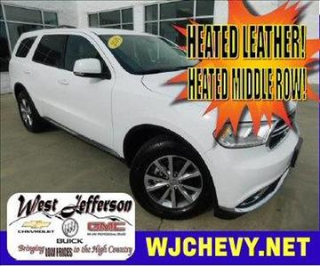 2016 Dodge Durango for sale in West Jefferson, NC