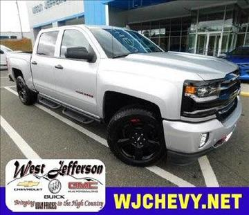 2017 Chevrolet Silverado 1500 for sale in West Jefferson, NC