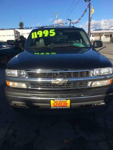 2005 Chevrolet Tahoe for sale in Arlington, WA