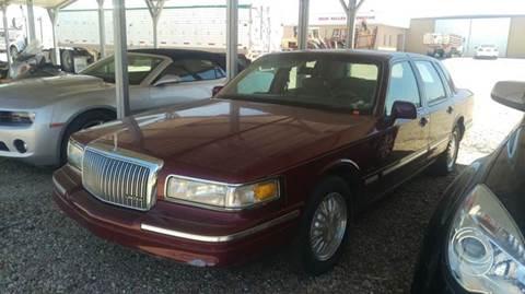 1996 Lincoln Town Car for sale in Stockton, KS