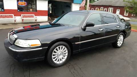 2007 lincoln town car for sale in new york. Black Bedroom Furniture Sets. Home Design Ideas