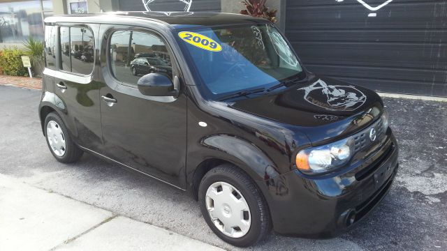 2009 NISSAN CUBE 18 S black abs brakesair conditioningamfm radioanti-brake system 4-wheel ab