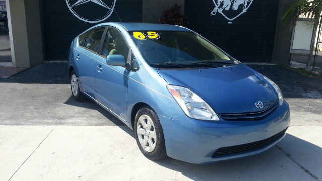 2005 TOYOTA PRIUS 4-DOOR LIFTBACK blue abs brakesair conditioningalloy wheelsamfm radioanti-b