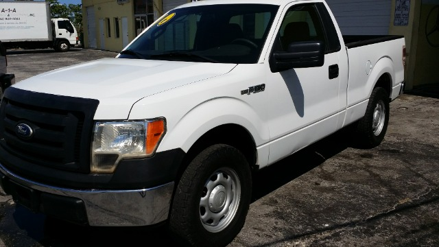 2010 FORD F150 XL 65-FT BED 2WD white financiamos com licensia intl o passaporteitin grantizad