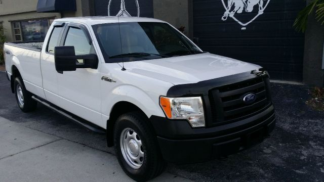 2010 FORD F150 XL SUPERCAB 8-FT BED 4WD white we finance anyone guaranteed  4wdawdabs brakesa