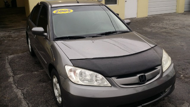 2005 HONDA CIVIC CVT gray 4500 cashwe dont charge dealer fees  financiamos com licensia intl o