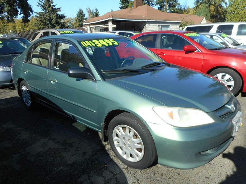 2004 Honda Civic LX 4dr Sedan In Vancouver WA - A and L Autos Inc