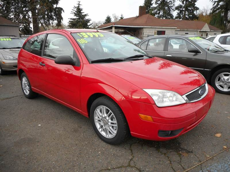 2006 ford focus zx3 s 2dr hatchback in vancouver wa a. Black Bedroom Furniture Sets. Home Design Ideas