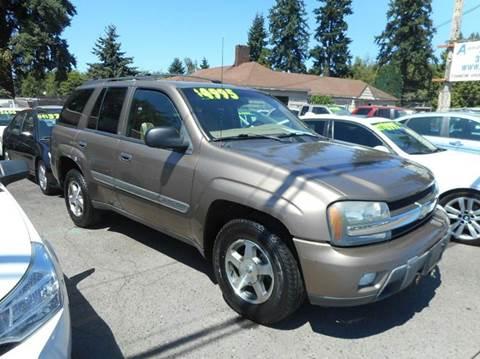 2002 Chevrolet TrailBlazer for sale in Vancouver, WA