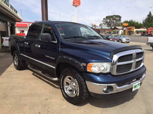 2003 Dodge Ram Pickup 1500 Slt 4dr Quad Cab 4wd Sb In