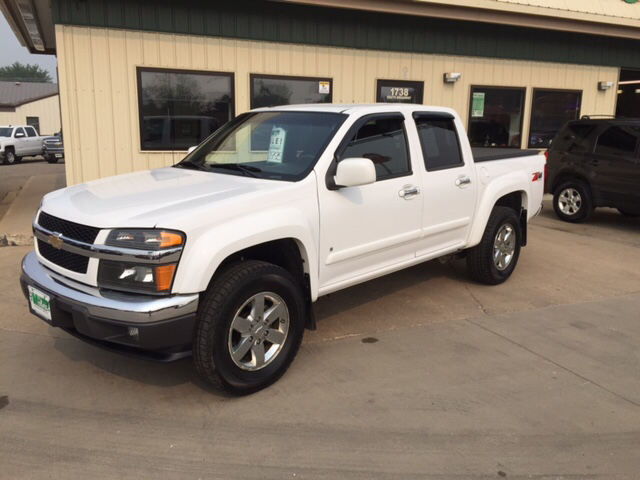 2009 chevrolet colorado lt 4x4 4dr crew cab w 1lt in minot bismarck rugby murphy motors next to new. Black Bedroom Furniture Sets. Home Design Ideas