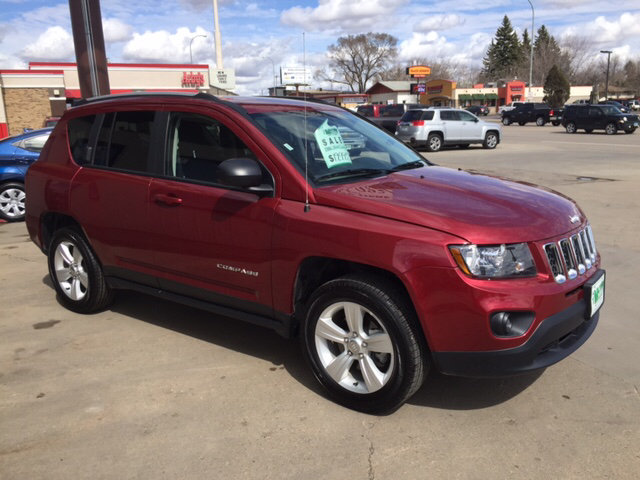 2016 jeep compass in minot nd murphy motors next to new
