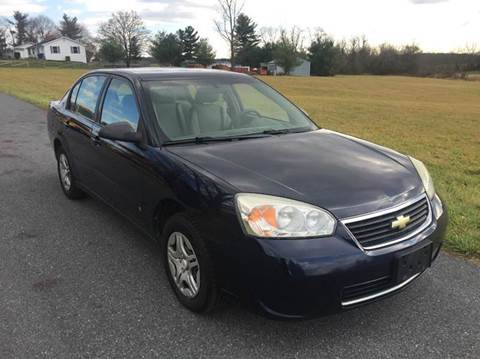 2007 chevrolet malibu for sale. Black Bedroom Furniture Sets. Home Design Ideas