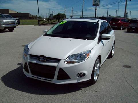 2012 Ford Focus for sale in Tulsa OK : ford focus used car sales - markmcfarlin.com