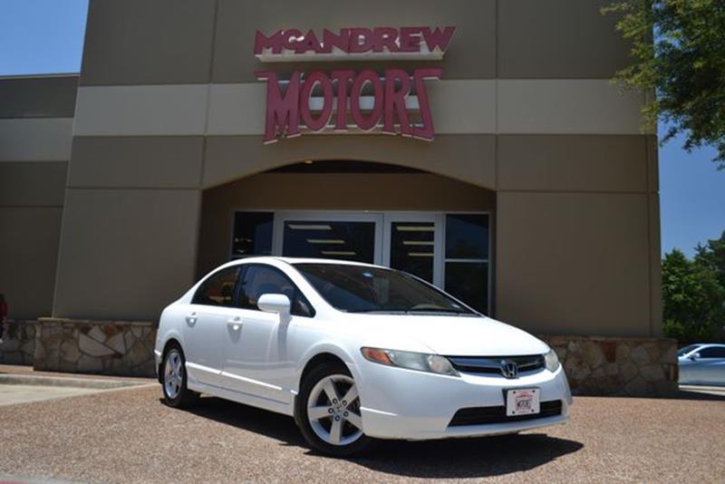 2008 Honda Civic EX L 4dr Sedan 5A   Arlington TX