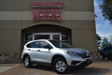 2015 Honda CR-V for sale in Arlington, TX
