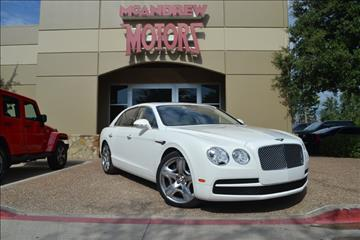 2015 Bentley Flying Spur V8 for sale in Arlington, TX
