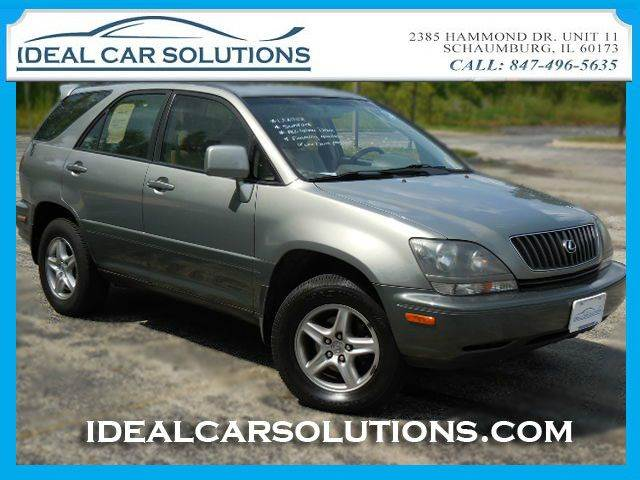2000 LEXUS RX 300 AWD gray financing available with low down payment se habla espanol ice cold