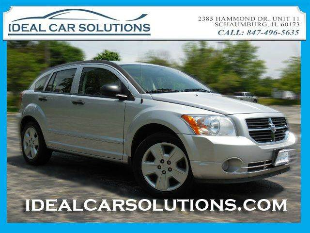 2007 DODGE CALIBER SXT SXT silver ice cold ac sunroof completely inspected this vehicle is wel