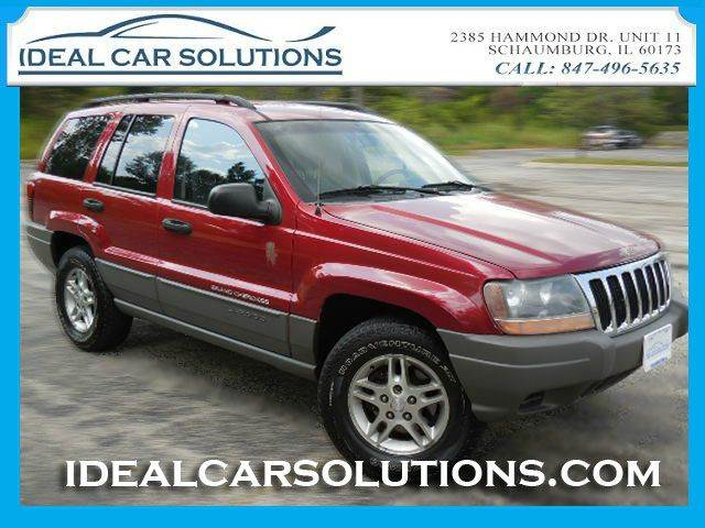 2002 JEEP GRAND CHEROKEE LAREDO red have any mechanic of your choice come see the car if you would