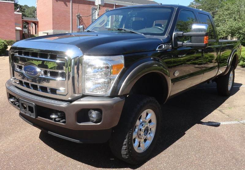 2015 Ford F-350 Super Duty King Ranch 4x4 4dr Crew Cab 8 ft. LB SRW Pickup - Jackson MS