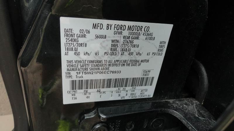 2006 Ford F-250 Super Duty Lariat 4dr Crew Cab 4WD SB - Jackson MS