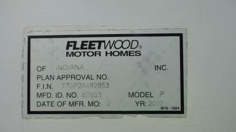 2002 Fleetwood Discovery 38P - Jackson MS