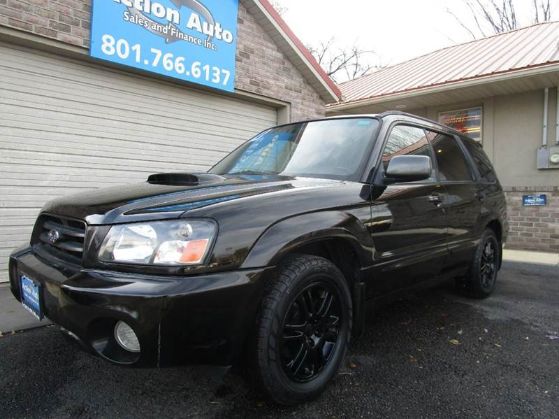 2004 subaru forester awd 4dr xt turbo wagon in lehi ut action auto sales and finance. Black Bedroom Furniture Sets. Home Design Ideas