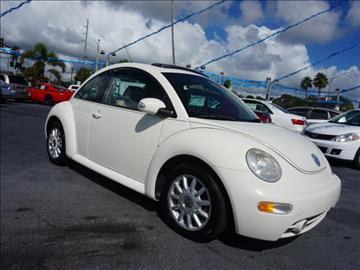 2005 Volkswagen New Beetle for sale in Fort Pierce, FL