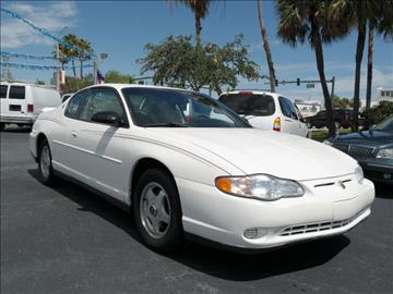 2001 Chevrolet Monte Carlo for sale in Fort Pierce, FL