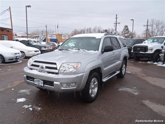 2004 toyota 4runner sr5 4wd 4dr suv in brighton co