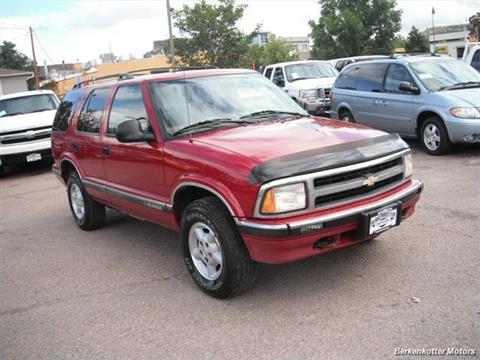 1996 Chevrolet Blazer for sale in Brighton, CO