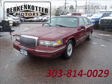 1997 Lincoln Town Car for sale in Brighton, CO