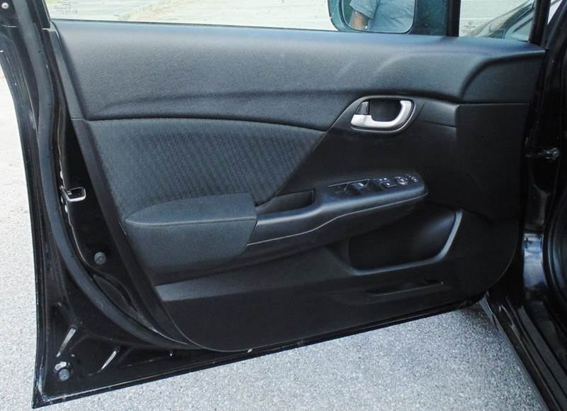 2015 Honda Civic LX 4dr Sedan CVT - Houston TX