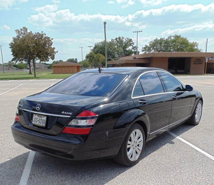 2009 Mercedes-Benz S-Class AWD S 550 4MATIC 4dr Sedan - Houston TX