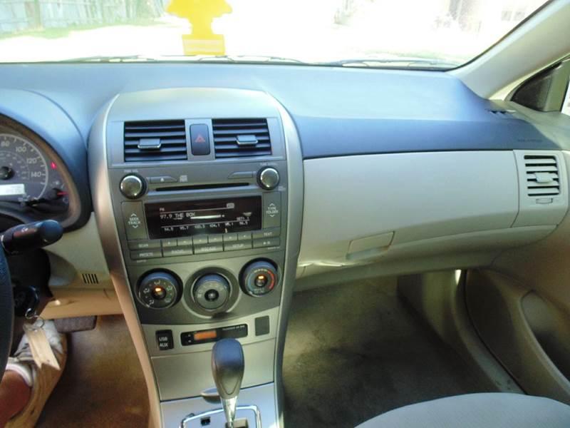 2011 Toyota Corolla LE 4dr Sedan 4A - Houston TX