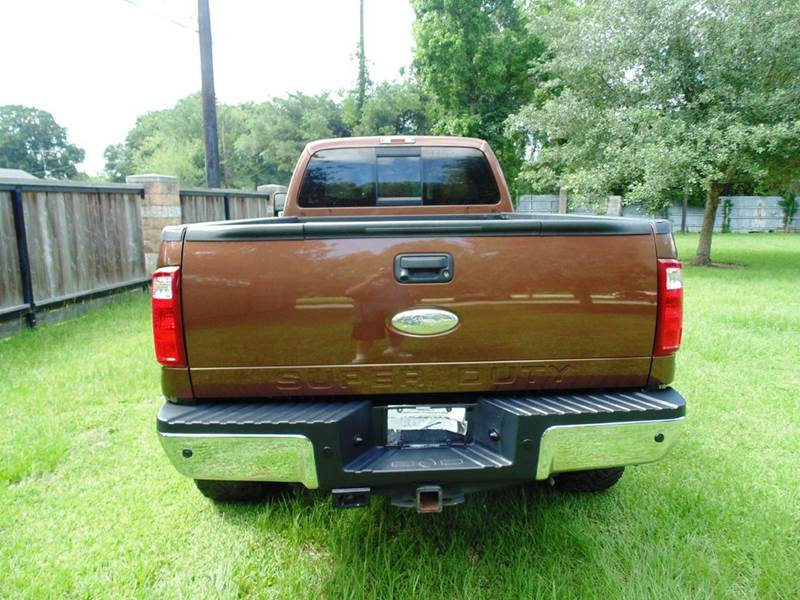 2012 Ford F-350 Super Duty 4x4 Lariat 4dr Crew Cab 8 ft. LB SRW Pickup - Houston TX