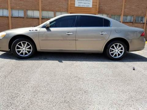2007 Buick Lucerne for sale in Houston, TX