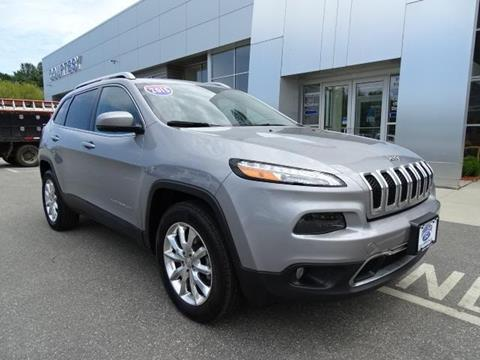 2015 Jeep Cherokee for sale in Brooklyn, CT