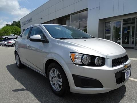 2014 Chevrolet Sonic for sale in Brooklyn, CT