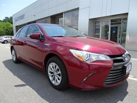 2015 Toyota Camry Hybrid for sale in Brooklyn, CT