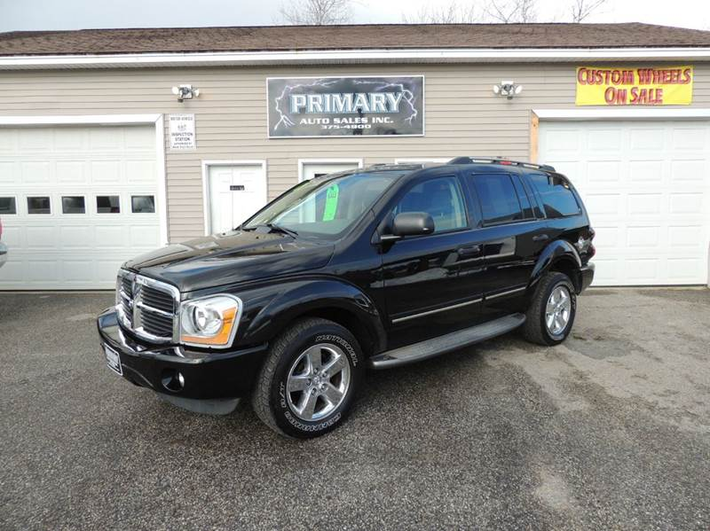 durango limited 4dr suv 4wd w front rear and third row head airbags. Black Bedroom Furniture Sets. Home Design Ideas