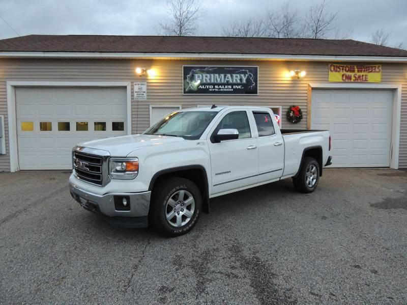 2014 gmc sierra 1500 4x4 slt 4dr double cab 6 5 ft sb in sabattus me primary auto sales inc. Black Bedroom Furniture Sets. Home Design Ideas