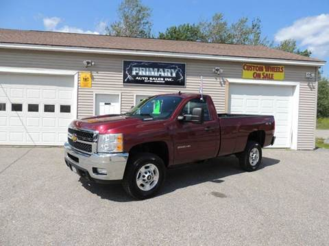 2013 Chevrolet Silverado 2500HD for sale in Sabattus, ME