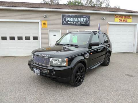 2008 Land Rover Range Rover Sport for sale in Sabattus, ME